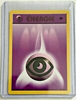 Psychic Energy 1st Edition 101/102 Vintage ©1999 FRENCH Base NEAR MINT CONDITION