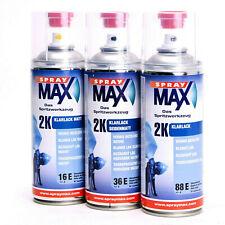 SprayMax 2K Klarlack Spraydose Sprühdose hochglänzend seidenmatt matt Autolack