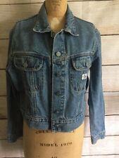 Vintage Calvin Klein Ladies Jean Cropped Jacket light Wash