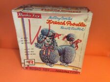 ANTIQUE  - ROSKO TOYS - BOX ONLY - FRENCH POODLE