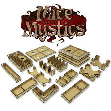 Cheesy game ORGANIZER for MICE & MYSTICS board game also suitable for EXPANSION