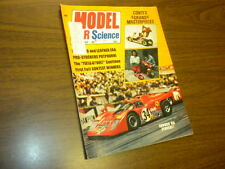 MODEL CAR & SCIENCE magazine FEBRUARY 1972 slot cars Monogram kits matchbox