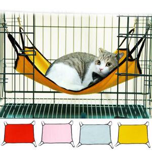 Pet Cat Hammock Rabbit Hamster Cat Cage Hammocks Hanging Bed Cage Supplies Hot