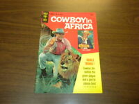 COWBOY IN AFRICA #1 Gold Key TV CHUCK CONNORS 1968