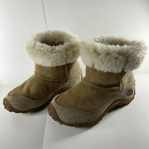 EUC Merrell YETI CHAMELEON Shearling  Boots w/ Vibram Sole, Women's size 8