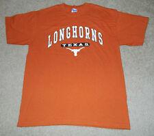 Adult GILDAN University of Texas Longhorns S/S Shirt, Sz. M ~ MINT!