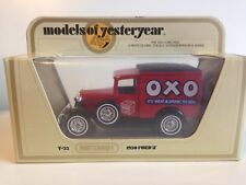 MATCHBOX MODELS OF YESTERYEAR Y-22 - 1930 FORD 'A' OXO DELIVERY TRUCK