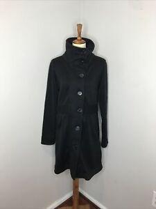Womens Patagonia Collar Black Better Sweater Jacket Large L
