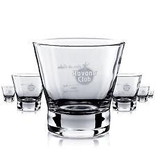 6 x Havana Club Glas / Gläser Rum Tumbler Longdrink Cocktail Gastro Bar Dek NEU