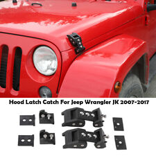 For 2007-2017 Jeep Wrangler Hood Latch Rugged Ridge 14589TJ 2009 2013 2014 2016