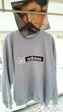 ADIDAS True Vintage Sports cool big Sweatshirt Retro Old School 80s 70er XXL 2XL
