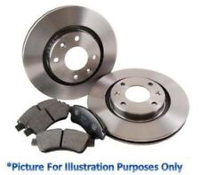 Pagid Rear Brake Kit Discs & Pads - Toyota Prius ZVW30 2009-2012 Hatchback