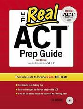The Real ACT (CD) 3rd Edition (Real Act Prep Guide)-ExLibrary