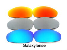 Galaxy Replacement Lenses For Oakley Juliet Blue&Titanium&Red Polarized 3Pairs