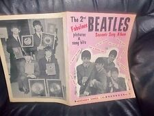 THE BEATLES SHEET MUSIC BOOK 2nd Issue GENUINE 1964 MUSICAL NOTES AND LYRICS