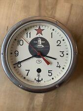Working Russian Ussr Soviet Submarine Vostok Christopol Marine Ship Wall Clock