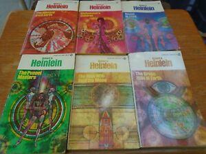 Robert A. Heinlein Lot Of 6 Signet paperback