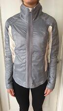 LULULEMON Size 4 Run Bundle Up Down Jacket Fleece POLAR CREAM Slate Gray