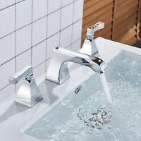 Chrom Waschtischarmatur Waschbecken Mischbatterie Bad Armatur Badezimmer Wasserh
