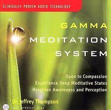 CD Gamma Meditation System Dr Jeffrey Thompson brainwave meditate exercise music