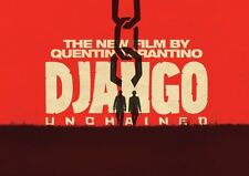 Django Unchained Poster Red POSTER