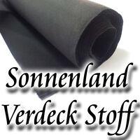 Sonnenland Stoff Cabrio Verdeck A5 Original  Sonnenlandstoff 150 cm schwarz TOP