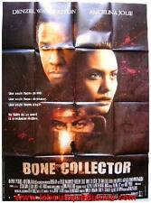 BONE COLLECTOR Affiche Cinéma / Movie Poster ANGELINA JOLIE DENZEL WASHINGTON