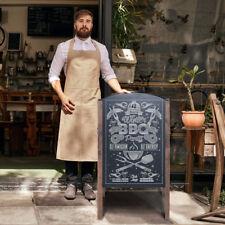 Kundenstopper Kreidetafel Werbeaufsteller Werbetafel Holz Aufsteller beidseitig