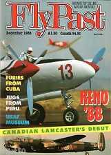 Flypast 1988 December CWH Lancaster,Reno,Hudson
