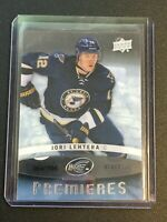 F63566  2014-15 Upper Deck Ice #121 Jori Lehtera/799 RC BLUES