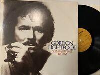 Gordon Lightfoot – Summertime Dream LP 1976 Reprise Records – MS 2246 VG+/VG+