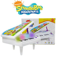 DISNEY SPONGEBOB KIDS ELECTRONIC PIANO KEYBOARD ORGAN EDUCATIONAL MUSICAL TOY