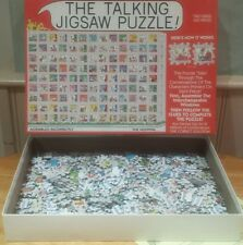 """THE TALKING JIGSAW PUZZLE rare """"The Hospital""""  100% complete 560 pieces"""