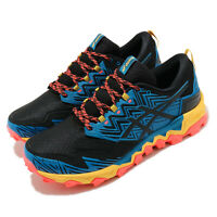 Asics Gel-FujiTrabuco 8 G-TX Gore-Tex Blue Black Men Running Shoes 1011A670-402