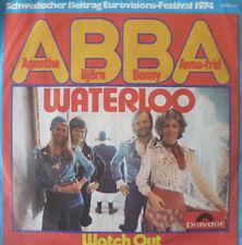 "7"" GRAND PRIX 1974 ( SWEDEN ) ABBA : Waterloo /MINT-"