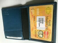 GENUINE COW HIDE LEATHER  CARD HOLDING 7 CARDS  ( 093)