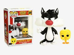 Funko Pop Animation: Looney Tunes - Sylvester & Tweety Vinyl Figure #21975