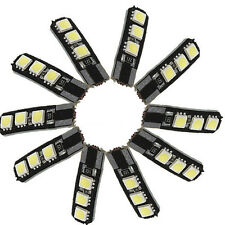 10X Canbus T10 194 168 W5W 5050 6 LED SMD lampada luce bianca auto laterale Y6Q8