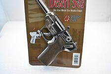 1/EA DESERT FOX DIE CAST METAL TOY REPLICA LUGER SHOOTS 8 SHOT RING CAPS # 4641