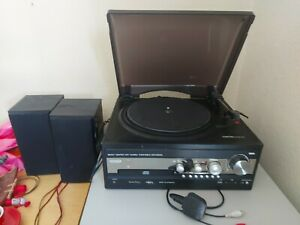 Record player, Cd, Radio Stereo Player, With Speakers