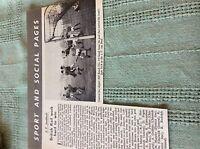 M89a ephemera 1966 picture london transport football bill bench cup final
