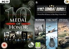 Medal Of Honor 10th Anniversary edition & ww2 world war 2 two combat bundle