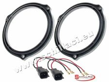 Adattatori altoparlanti Casse 165 mm + connettori  per Ford Focus (DA3) portiere
