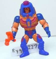 MOTU, Man-E-Faces, Masters of the Universe, gun, complete, figure, He Man, 100%