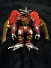 "Digimon Season Four Spirit-Digivolving Burninggreymon Bandai WARRIOR 5"" FIGURE"