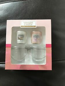 BNWT Yankee Candle Gift Set Of Votives And Holders
