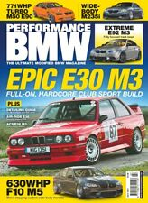 PERFORMANCE BMW  Magazine July 2019 Epic E30 M3