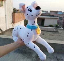 DISNEY STORE 101 Dalmatians Perdita Dog Plush Soft Stuffed Medium Toy 14'' 35cm