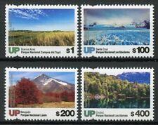 Argentina 2019 MNH National Parks Pt III UP 4v Set Trees Tourism Nature Stamps