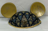 Disney Parks Haunted Mansion 50th Anniversary Mickey Mouse Ear Hat New